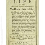Title page for the Life of William Cavendish by Margaret Cavendish