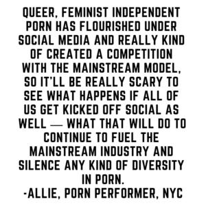 Allie, Porn Performer